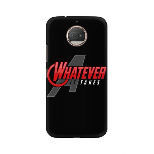 Whatever It Takes Multicolour Phone Case For Moto G5s