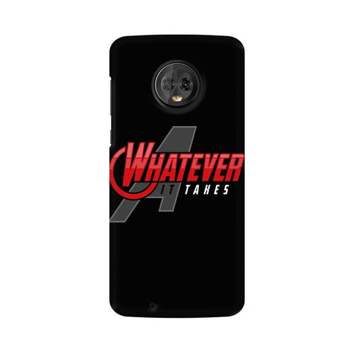 Whatever It Takes Multicolour Phone Case For Moto G6