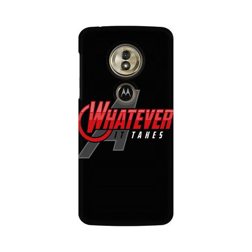 Whatever It Takes Multicolour Phone Case For Moto G6 Play