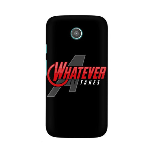 Whatever It Takes Multicolour Phone Case For Moto G