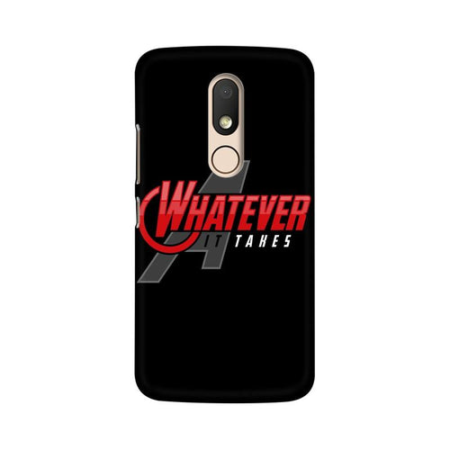 Whatever It Takes Multicolour Phone Case For Moto M