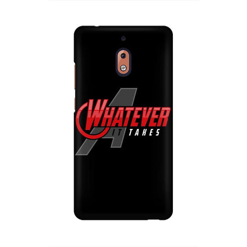 Whatever It Takes Multicolour Case For Nokia 2 point 1