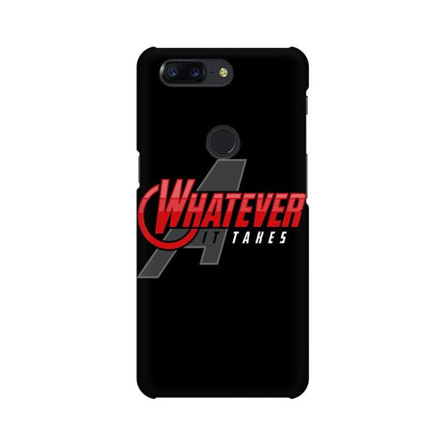 Whatever It Takes Multicolour Case For OnePlus 5T