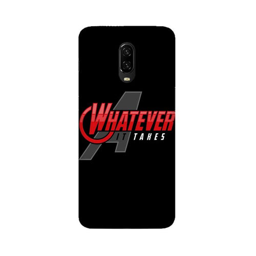 Whatever It Takes Multicolour Case For Oneplus 6T