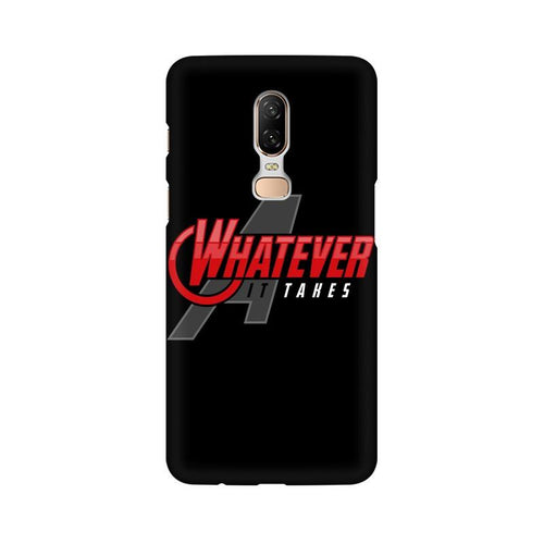 Whatever It Takes Multicolour Case For OnePlus 6