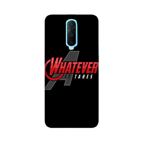 Whatever It Takes Multicolour Case For Oppo R17 Pro