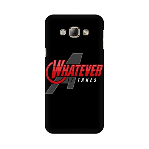 Whatever It Takes Multicolour Case For  Samsung A8