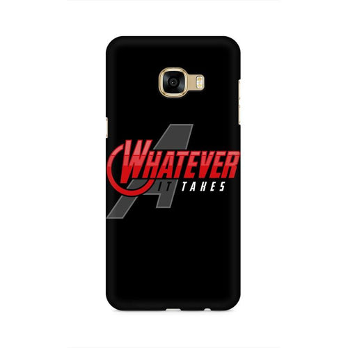 Whatever It Takes Multicolour Case For  Samsung C5 Pro
