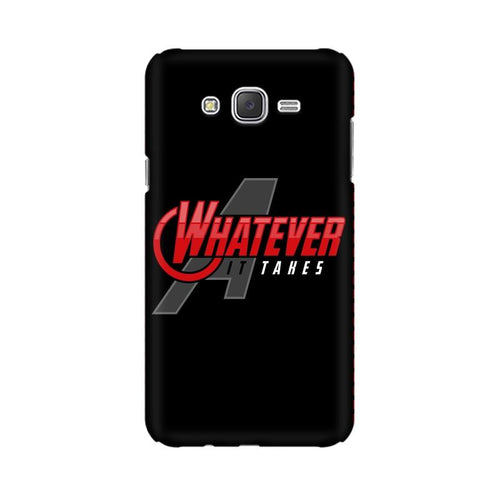 Whatever It Takes Multicolour Case For  Samsung J3