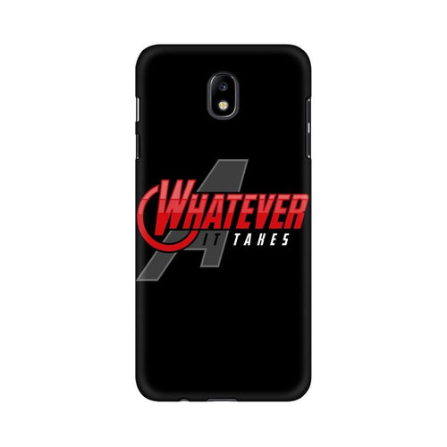 Whatever It Takes Multicolour Case For  Samsung J7 Pro