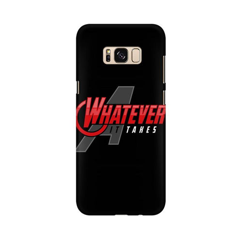 Whatever It Takes Multicolour Case For  Samsung S8 Plus