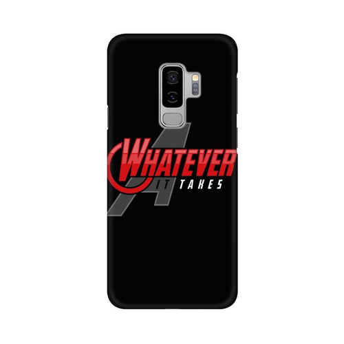 Whatever It Takes Multicolour Case For  Samsung S9 Plus