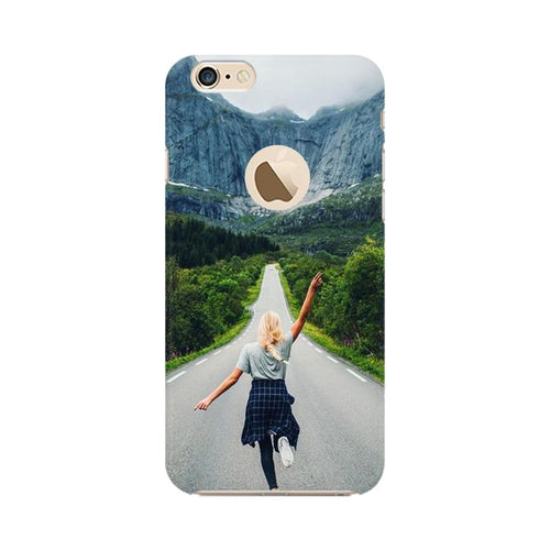 Your Design Multicolour Phone Case For Apple iPhone 6s with Apple hole