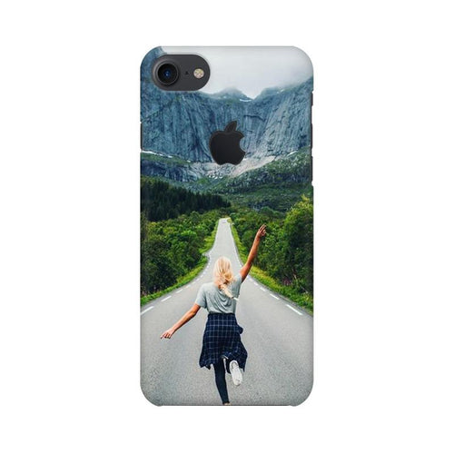 Your Design Multicolour Phone Case For Apple iPhone 7 with Apple cut