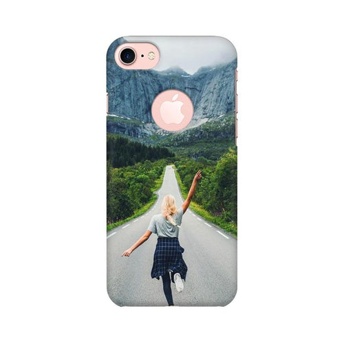 Your Design Multicolour Phone Case For Apple iPhone 7 with Round cut