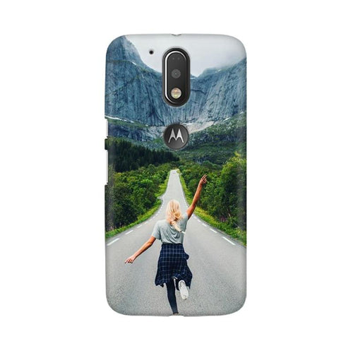 Your Design Multicolour Phone Case For Moto G4