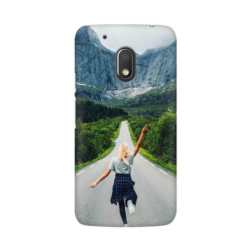 Your Design Multicolour Phone Case For Moto G4 Play