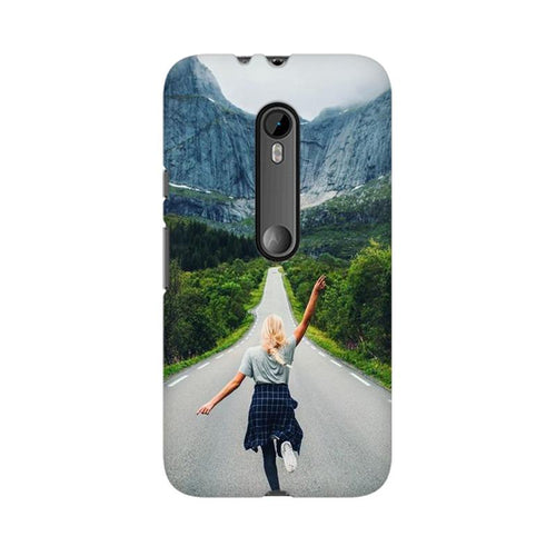 Your Design Multicolour Phone Case For Moto X Force