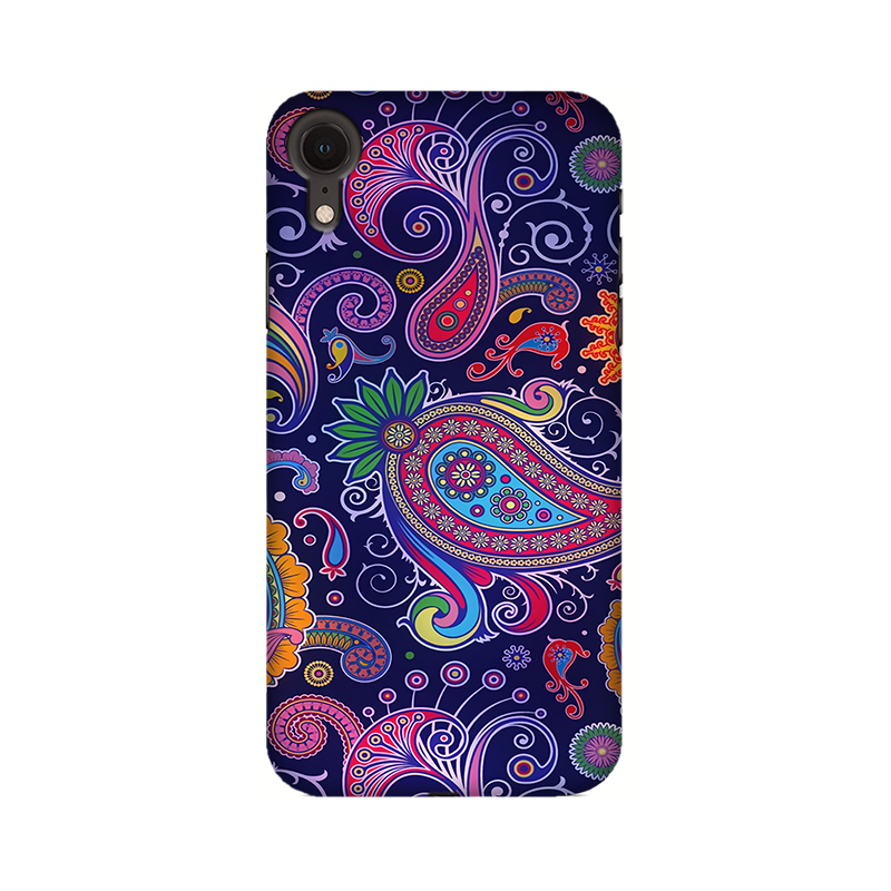 Paisleys Multicolour Case For Apple iPhone XR