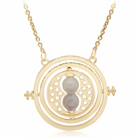 Fashion Time Converter Hourglass Necklace