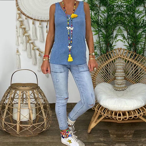Fashion Denim Vest