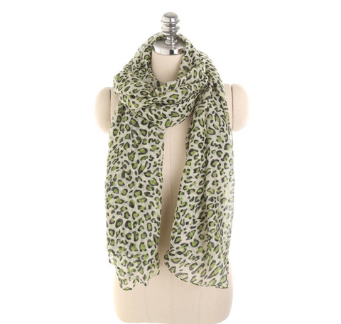 Personalized Leopard Pattern Sunscreen Sunscreen Scarf