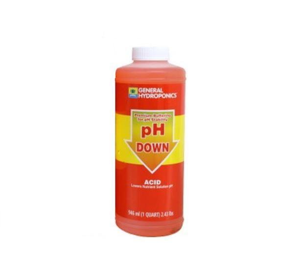 General Hydroponics pH Down for Indoor Gardening