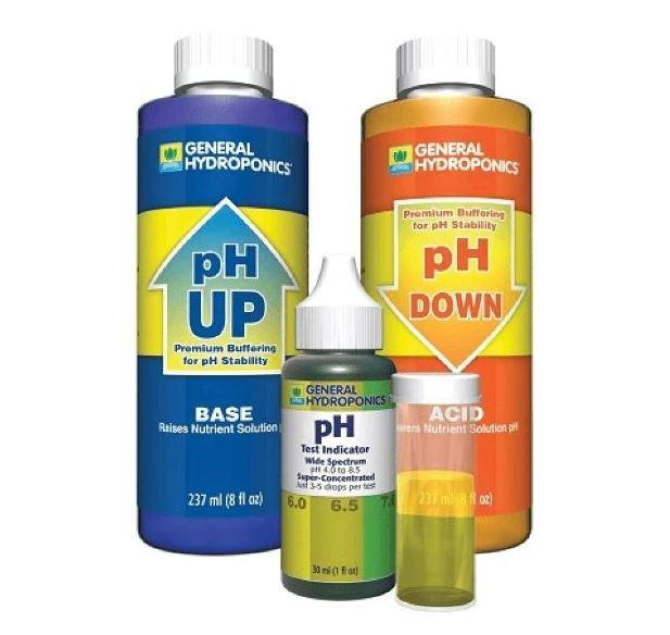 General Hydroponics pH Control Kit for Indoor Gardening