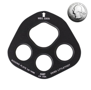 FUSION LITTLEFOOT ALUMINUM RIGGING PLATE