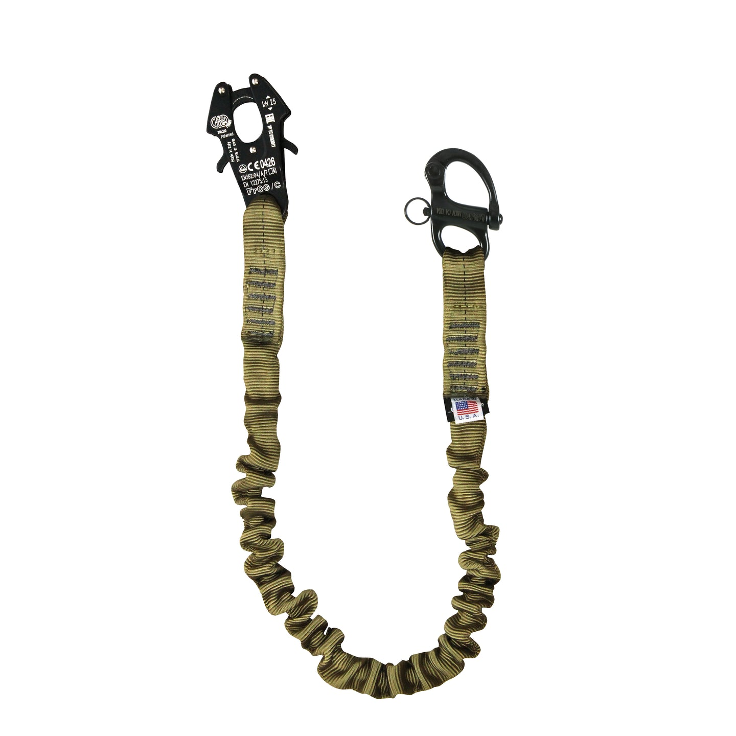EXTRACTION/PERSONAL RETENTION LANYARD W/KONG FROG