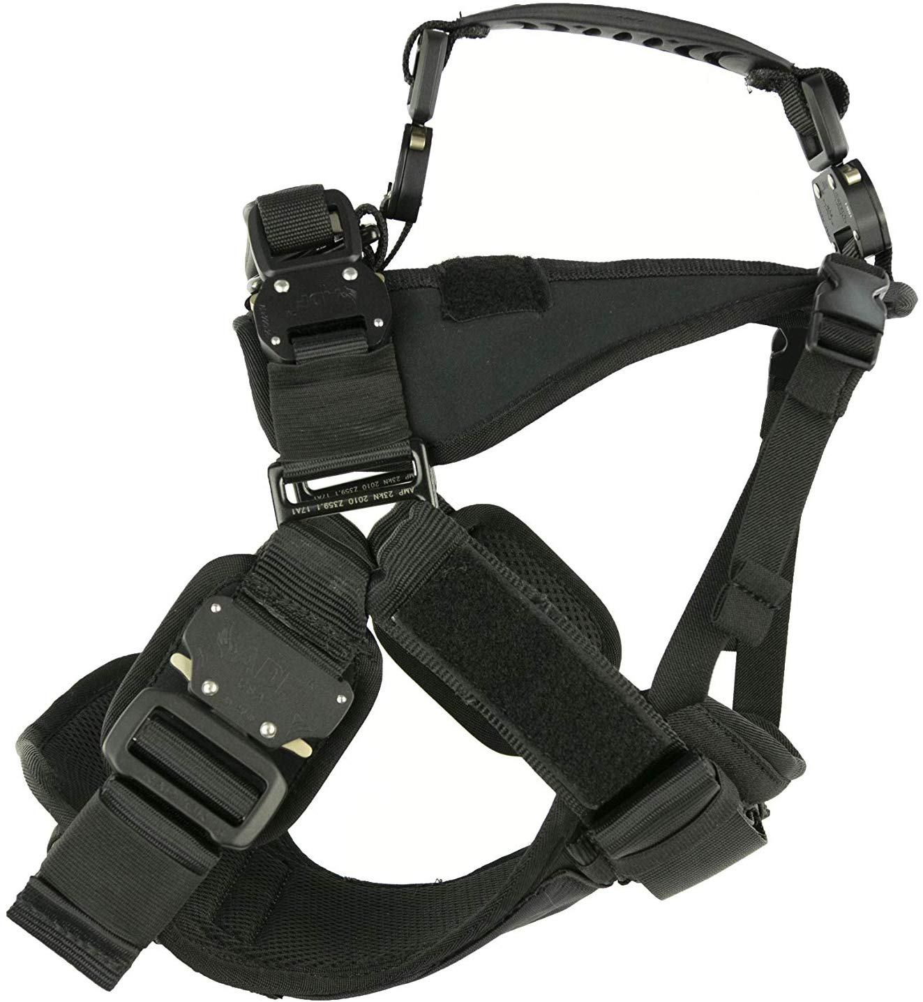 FUSION TREKKER DUAL HANDLE MILITARY GRADE K9 HARNESS