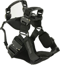 Load image into Gallery viewer, FUSION TREKKER DUAL HANDLE MILITARY GRADE K9 HARNESS