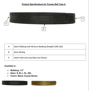 Trouser Belt Type A-Original