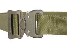 "Load image into Gallery viewer, Fusion Tactical Riggers Large 1.75"" Wide Coyote Brown Belt"