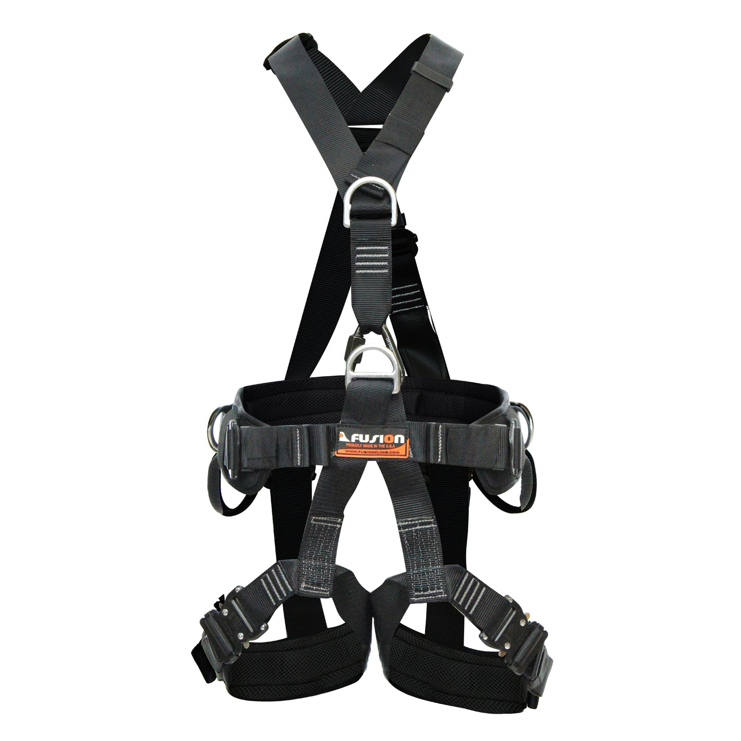TAC- RESCUE HARNESS WITH STEEL QUICK RELEASE LEG BUCKLES