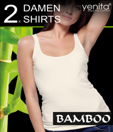 WOMAN BAMBOO TOP SET (BLACK)