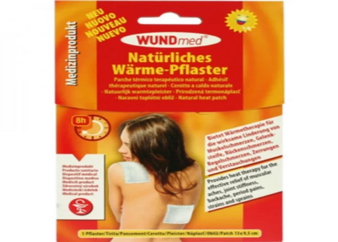 Bandage Warming Patch 9x13cm Hypoallergenic .