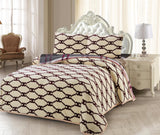 CB01  CHANNEL INFUSION BAMBOO  /COTTON  BEDDING SET