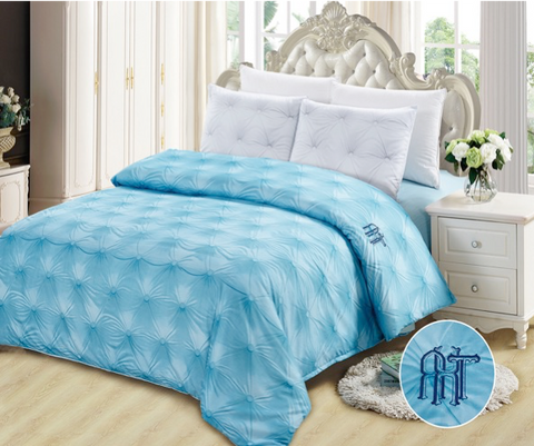 CD04 600 THREAD COTTON, HANDMADE BEDDING SET