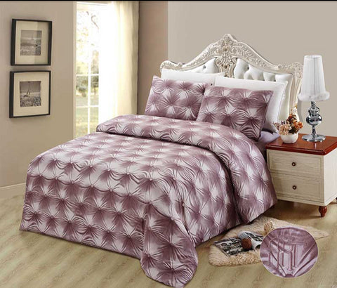 CD07 600 THREAD   COTTON, HANDMADE  BEDDING SET