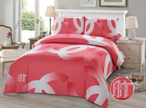DP01  CHANNEL INFUSION BAMBOO  /COTTON  BEDDING SET