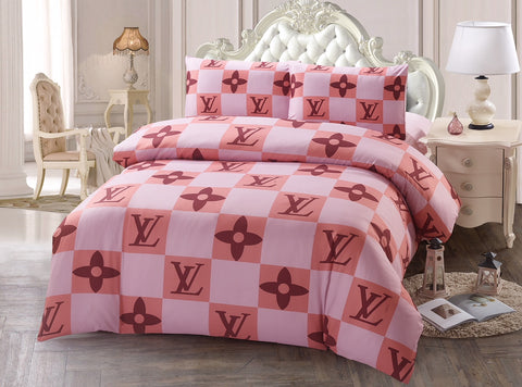 DP12 LV INFUSION (EXCLUSIVE) , 600 THREAD COTTON BEDDING SET