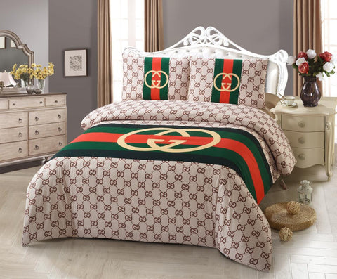 DP14  GUCCI INFUSION (EXCLUSIVE) , 600 THREAD COTTON BEDDING SET