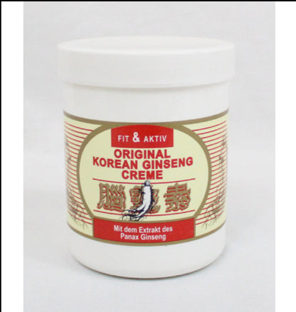 KOREAN GINSENG CREAM IN JAR