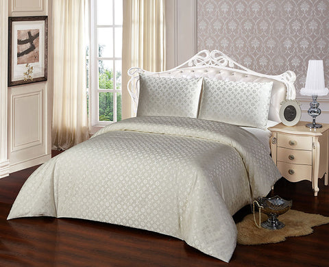 JA05  JACQUARD/300 THREAD COTTON BEDDING SET (LV INFUSION)