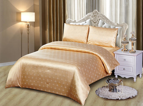 JA36 JACQUARD/300 THREAD COTTON BEDDING SET (CHANNEL INFUSION)