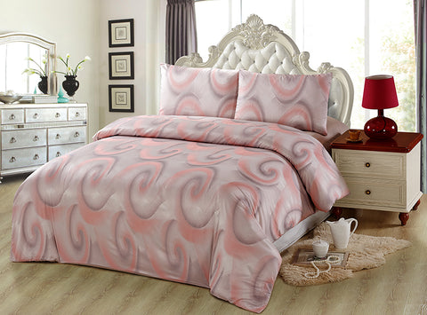 JA37 JACQUARD/300 THREAD COTTON BEDDING SET