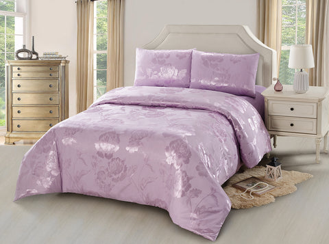 JA41  JACQUARD/300 THREAD COTTON BEDDING SET