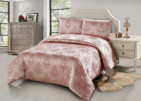 JA42 JACQUARD/300 THREAD COTTON BEDDING SET