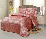 JA48 JACQUARD/300 THREAD COTTON BEDDING SET